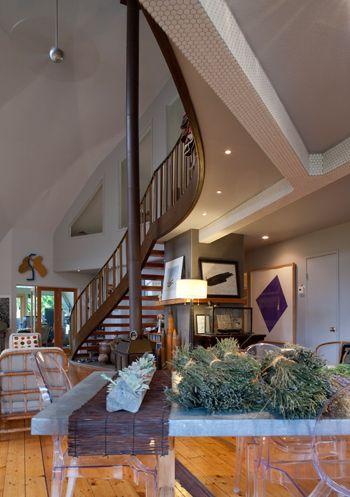 Home is where the art is ventana monthly interior design dome house pinterest house - Casas de madera y mas com ...