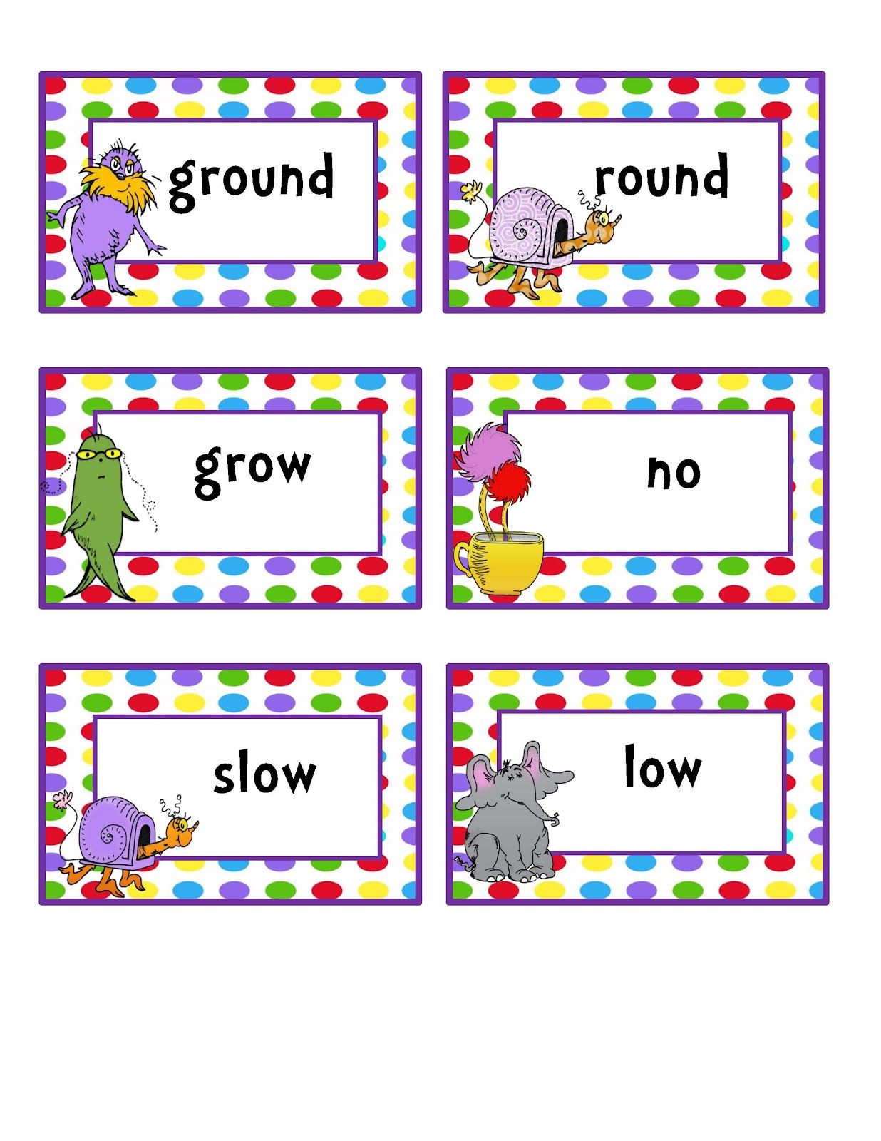 Preschool Printables Rhyming Words Group 2 With L
