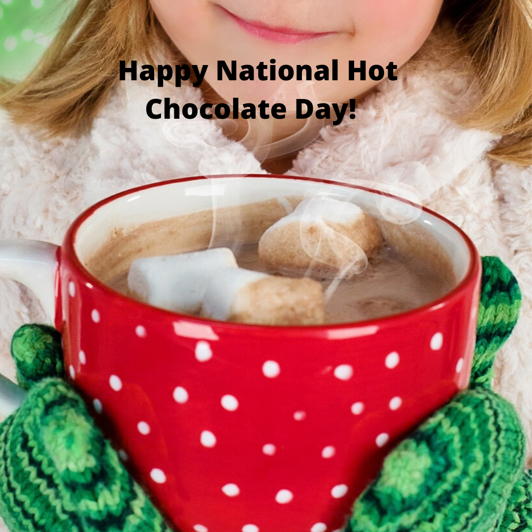 Happy National Hot Chocolate Day It S Not Surprising That Consumption Of Hot Chocolate Goes Up In The Winter Do Yo In 2020 Hot Cocoa Mixes Chocolate Day Cocoa Mix