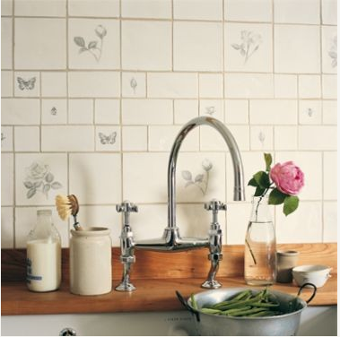 Images About Kitchen Tiles On Country Style Wall Cabinets