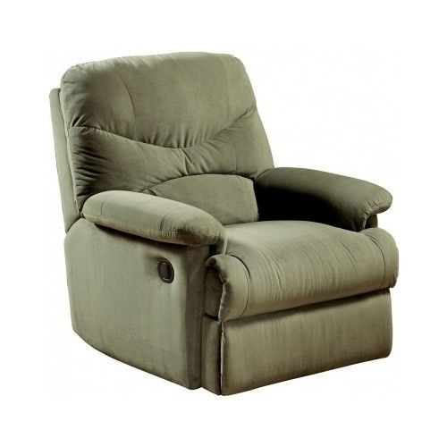 Acme Sage Microfiber Recliner - VFAZ0058126x33063 Style and Recliners