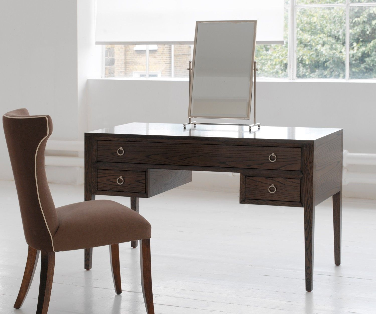 Sooma dressing table has usefull drawers and is pictured in new
