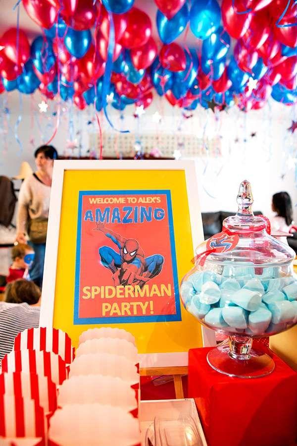 Spiderman Birthday Party Ideas