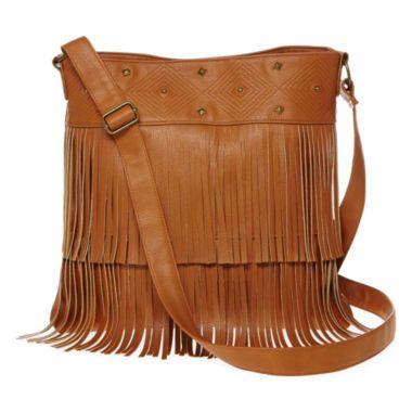 Olsenboye® Fringe Crossbody Bag    found at @JCPenney