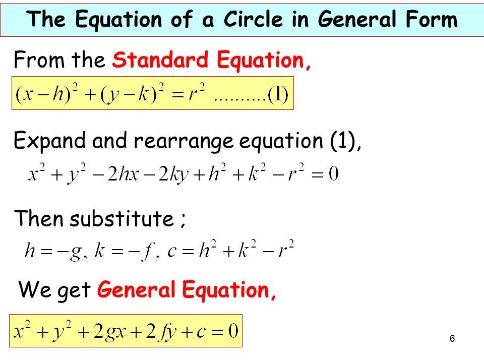 0e9d913ec9dc8271a620f09c5dc6a711 - How To Get The General Form Of A Circle