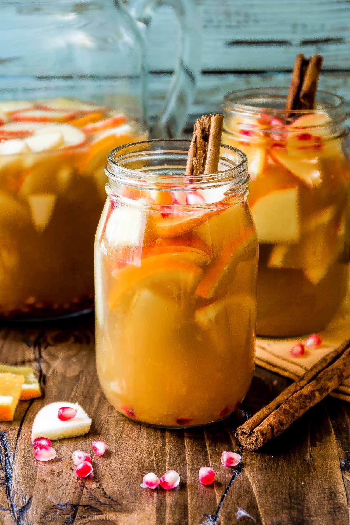 Cooking apple cider: a recipe for excellent wine