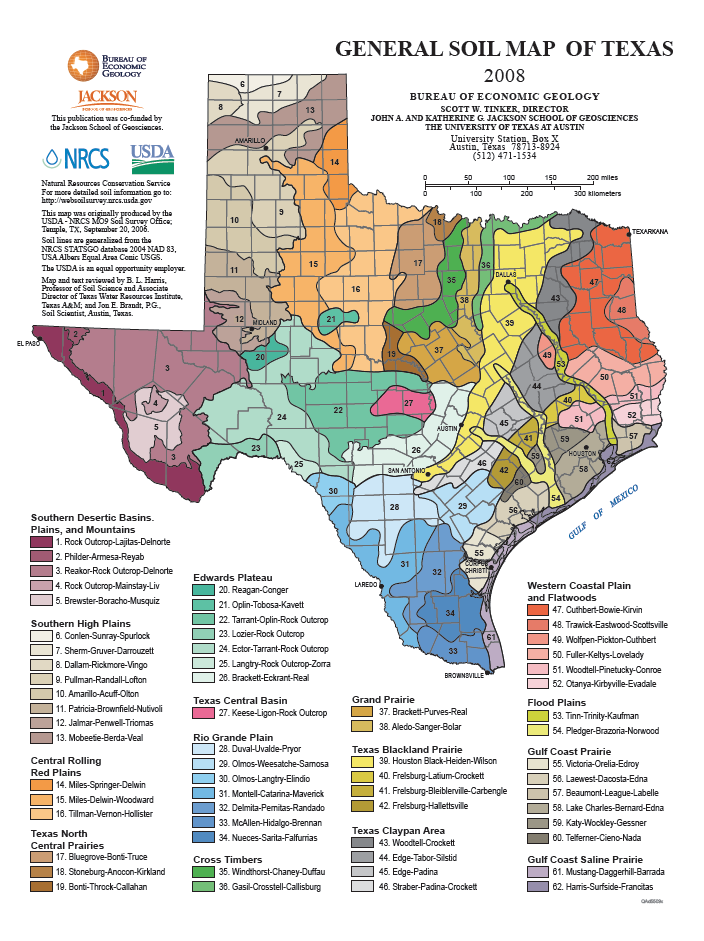 Complete Map Of Texas.Soil Map Of Texas 421x551 Texas Wine Map Texas Road Trip