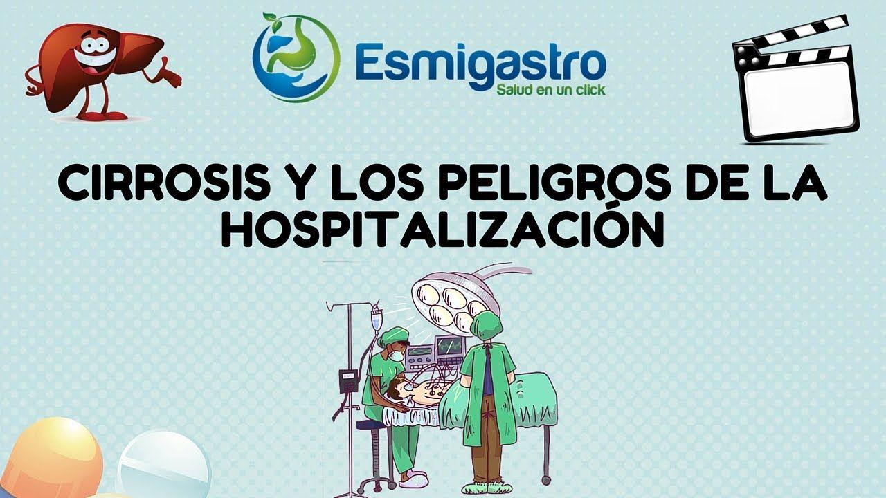 Peligro de hospitalización por cirrosis