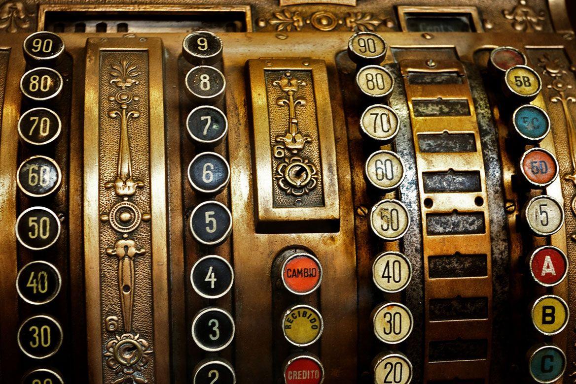 Kewl Old Cash Register.