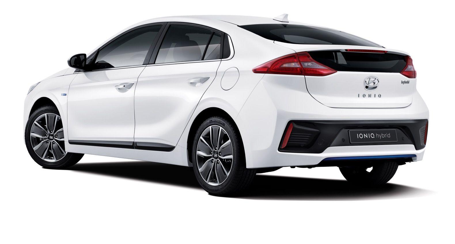 Hyundai S New Hybrid Ioniq Is The First Car To Take On The Toyota Prius Toyota Prius Hybrid Car Hyundai Motor