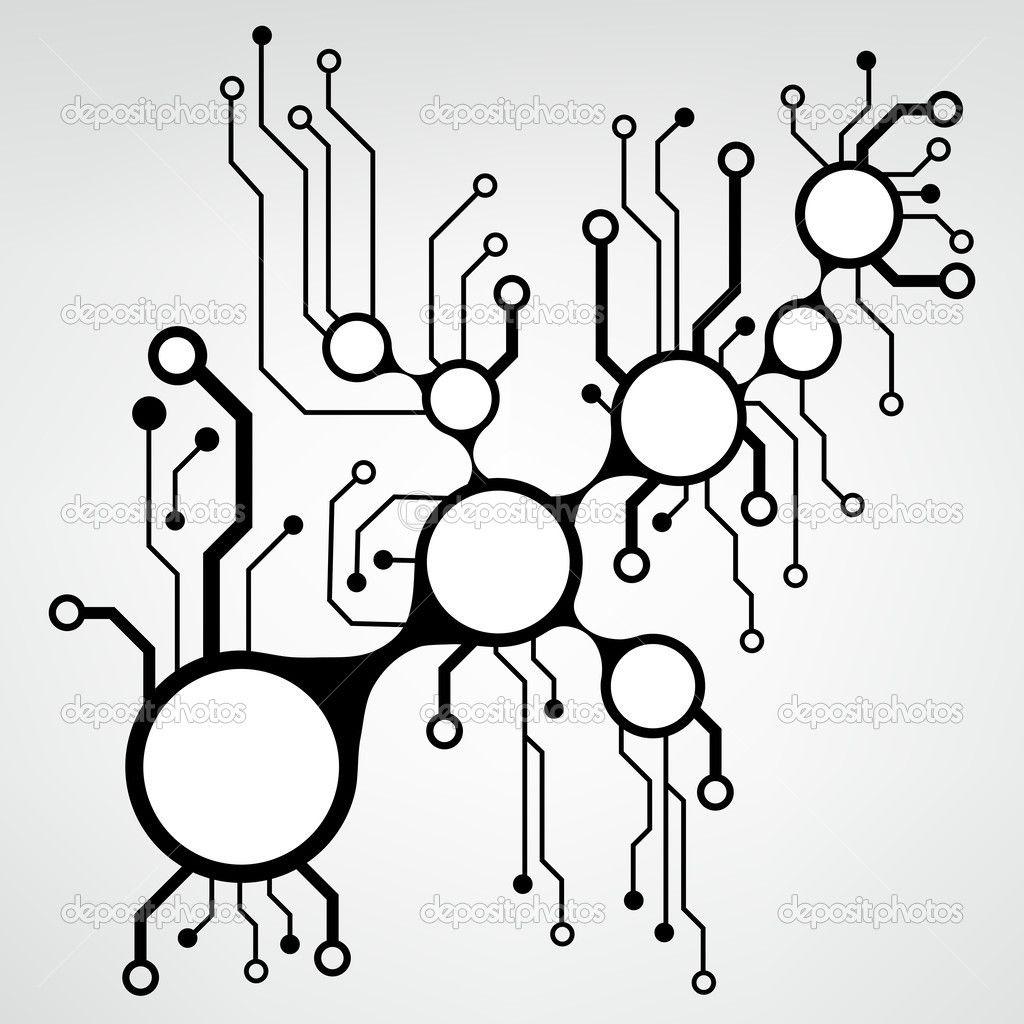circuit board pattern vector - Google Search | Halloweiner ...