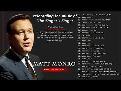 Matt Monro Greatest Hits Full Album The Best Of Matt Monro 2020 Youtube Canciones Musica