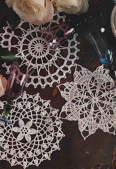 Crochet Doily Pattern Knitcrochet Pinterest Crochet Doily