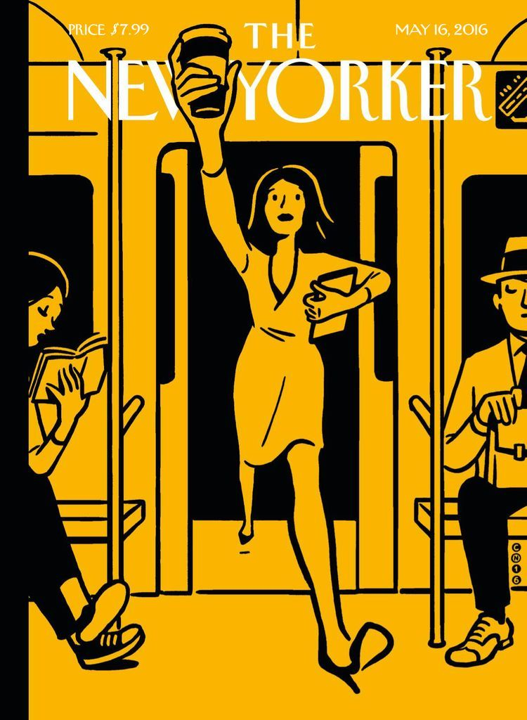 The New Yorker Back Issue May 16 2016 Digital In 2021 The New Yorker Editorial Illustration Magazine Christoph Niemann