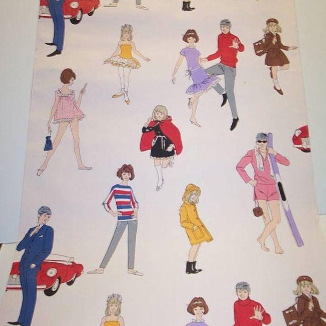 1960s Retro Fashion Wallpaper