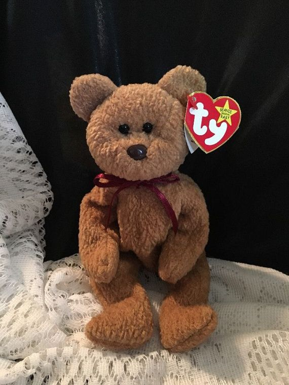 aed8068689d Retire Ty Beanie Baby Curly   Rare   96 93 tag by JewelzVintage ...