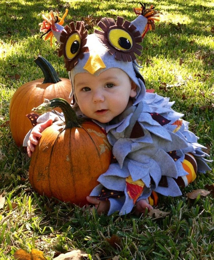 Owl Costume Harry Potter Owl Costume Boy Owl by TheEnchantedCircle  sc 1 st  Pinterest & Babyu0027s Halloween Costume Handmade Costume Owl Costume Infant size ...