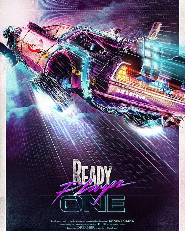 Are You Ready Ready Player One Click The Image For Shirts Posters And More Readyplayerone Wadewatt Posteres De Filmes Posters De Filmes Cartazes De Filmes