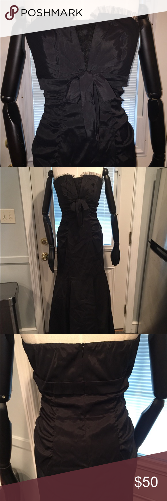Prom dress bridesmaid black prom dresses black prom and xscape
