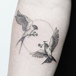 95 Beautiful Bird Tattoo Designs For Men And Women Gallery Bird Tattoo Men Two Birds Tattoo Birds Tattoo