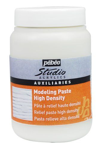 From 3 63 Pebeo Studio Acrylics Auxiliaries High Density Modelling Paste 250ml Jarwhite Oil Painting Materials Buy Oil Paintings Oil Painting Supplies