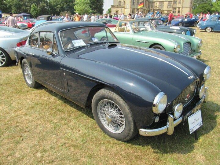 Aston Martin DB MK3 Saloon 1958 At Sherborne Castle Classic Car Show