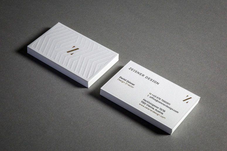 Digital Emboss Texture On One Side Foil For Imprint Prefix Embossed Business Cards Business Card Design Business Card Design Inspiration