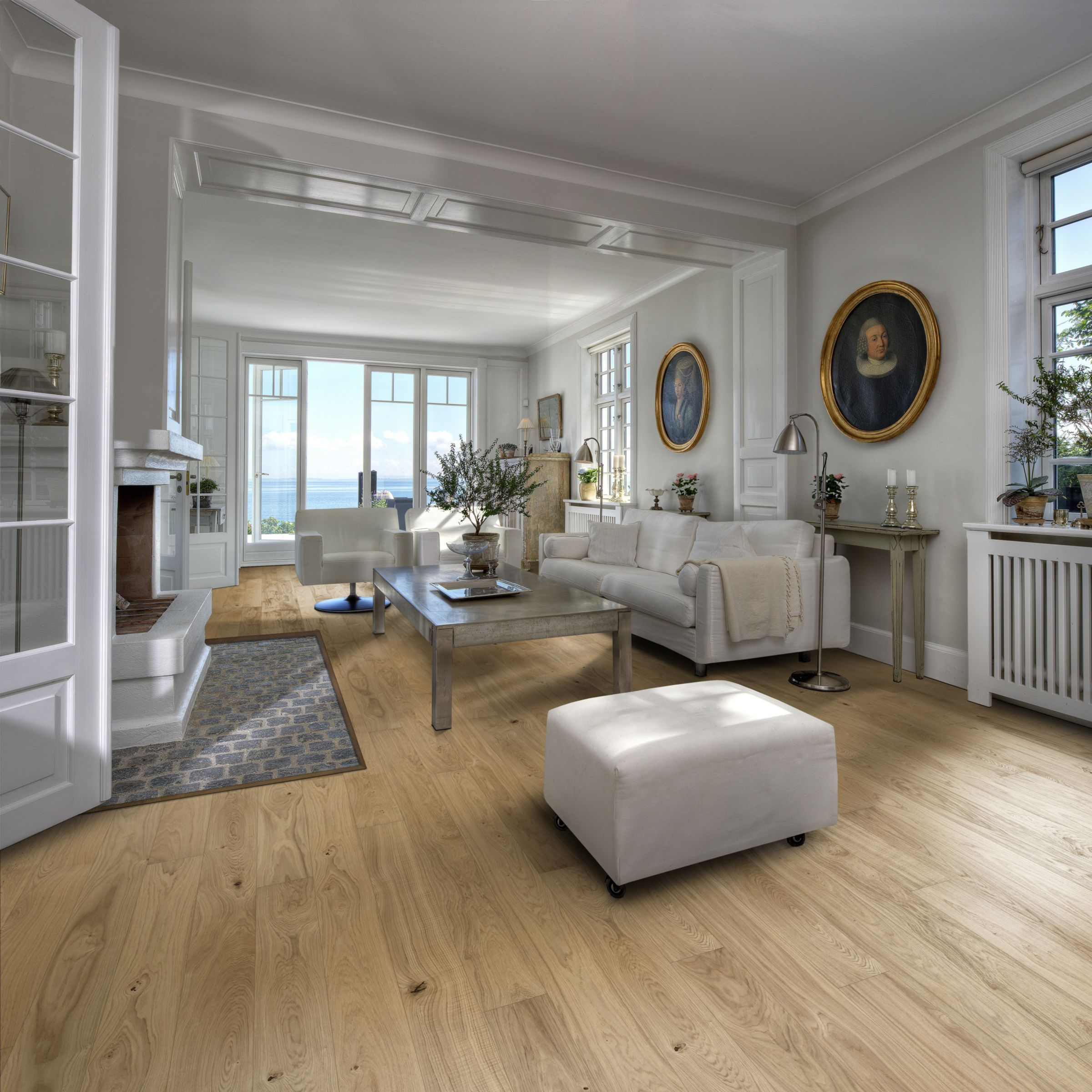 Kahrs European Naturals Grey engineered wood flooring