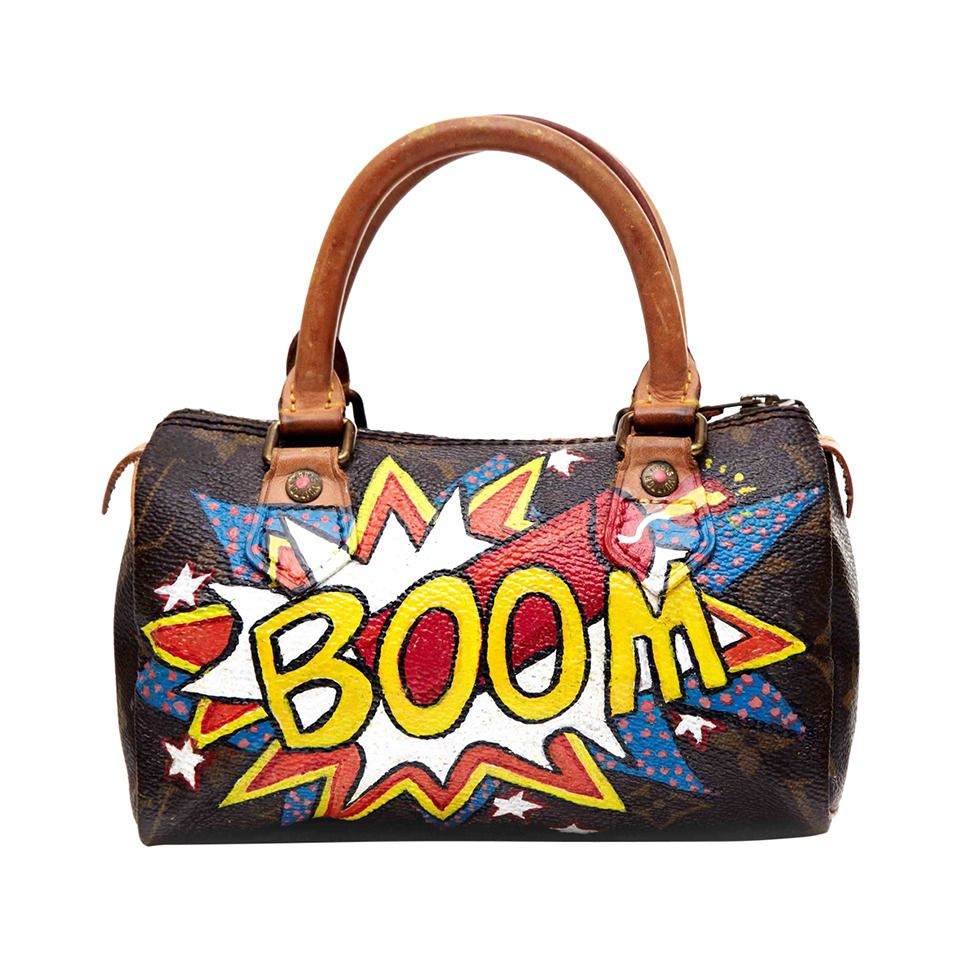 3201e69b0673 Hand Painted Leather Handbags