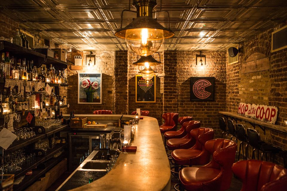 Tucked away in the dark recesses of this old Victorian #pub with a - bar manager