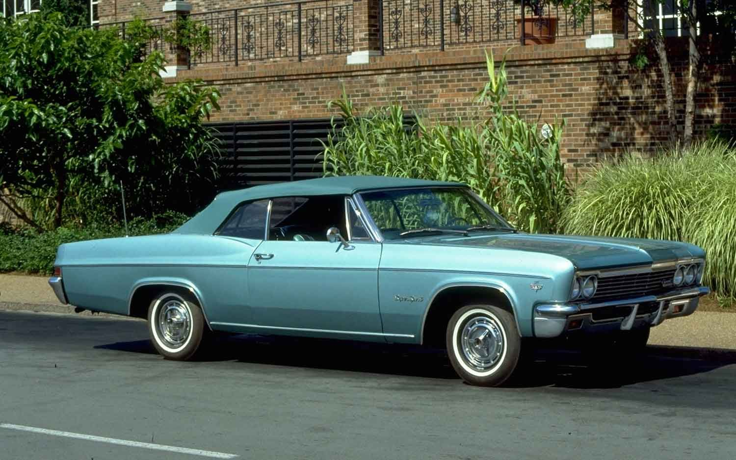 1966 chevrolet impala ss drop top