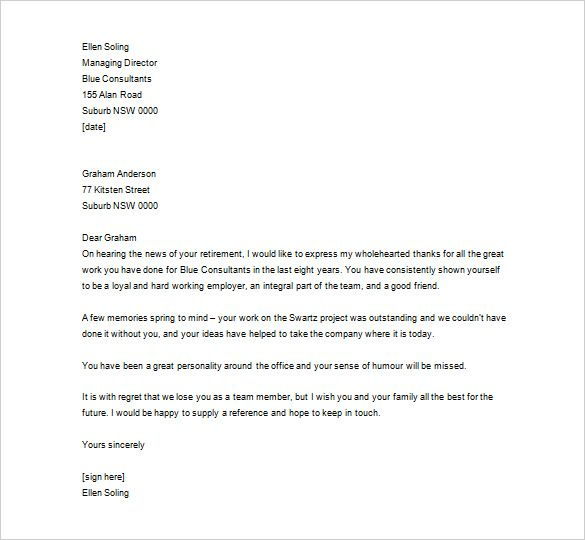 thank you letter employee free sample example format appreciation - appreciation email