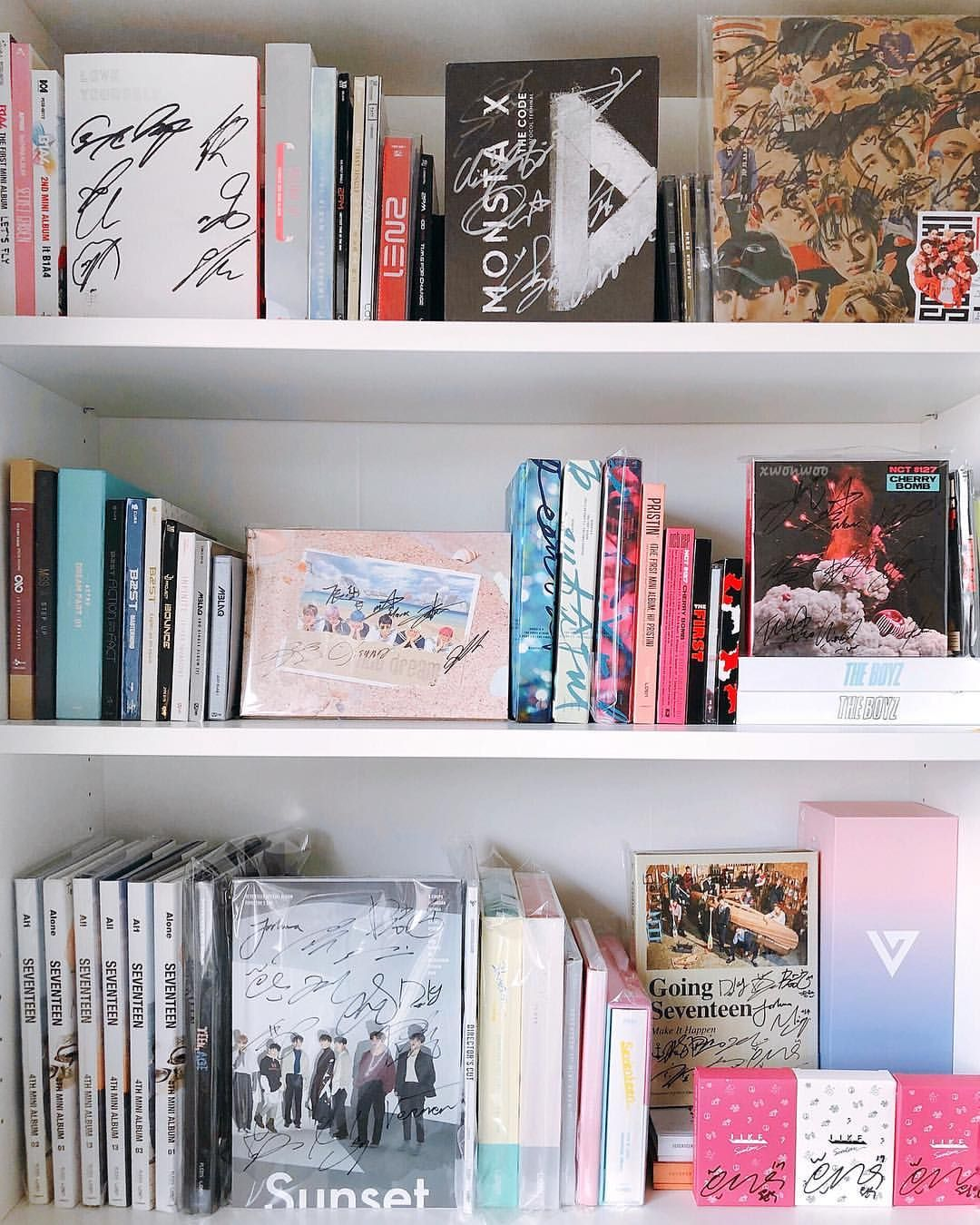 Kpop Bedroom Tumblr Xwonwoo Xwonwoo On Instagram Kpop Album Collection
