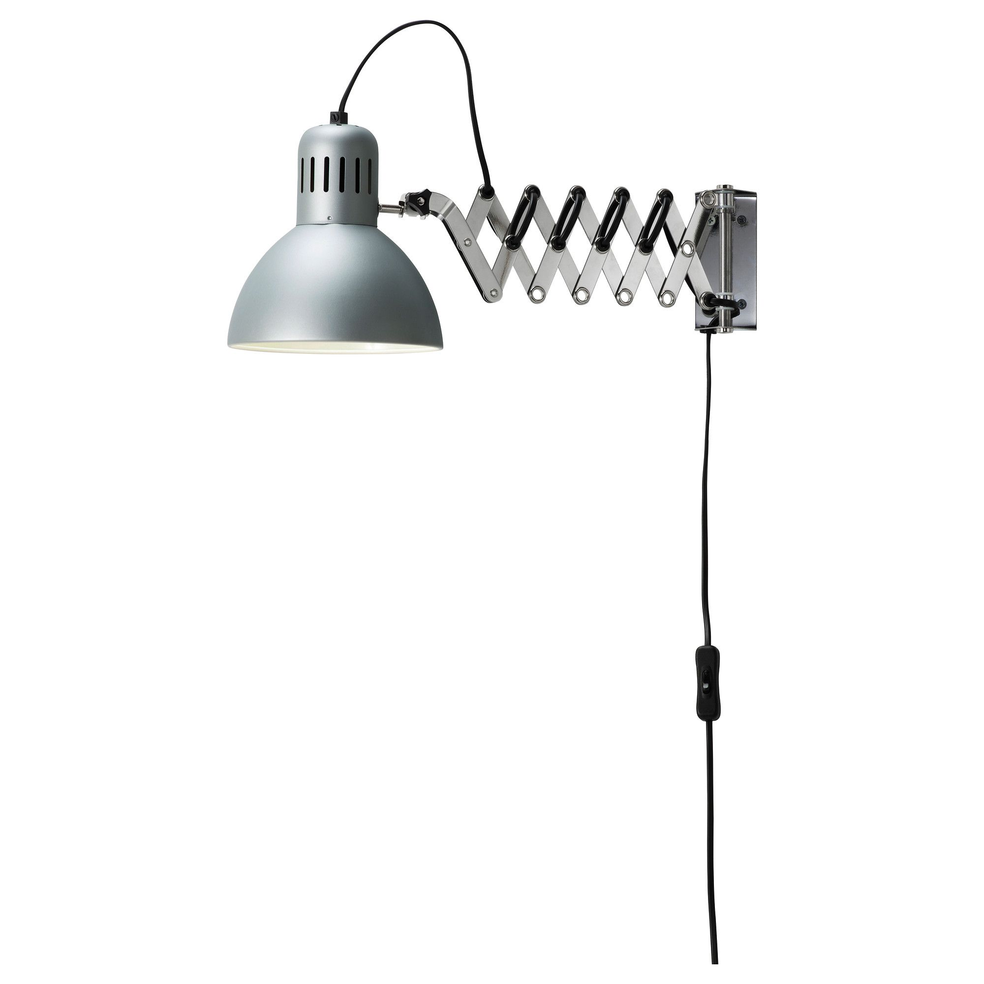 TERTIAL Wall/reading lamp - IKEA. Mounted above the ...