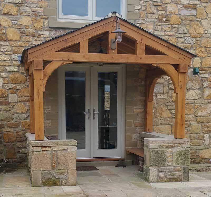 Oak porch idei intrari pinterest porch designs for Car porch designs for houses