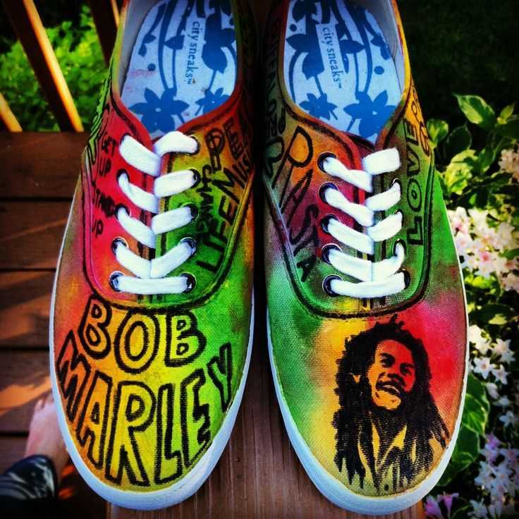 Pin by B. YouNiverse on MarleyBobOneLove! | Bob marley shoes