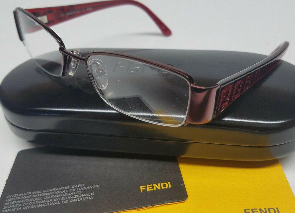 4655eb46e34 NEW FENDI Optical Eyeglasses Frames Glasses Red 49-17-130 w  Case Womens  Italy  fashion  health  beauty  visioncare  eyeglassframes (ebay link)