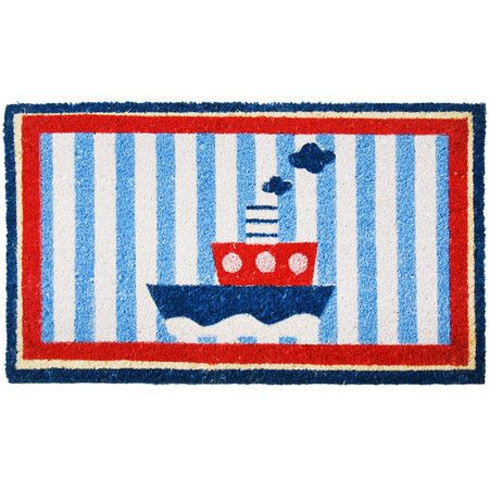 Tug Boat Doormat  at Joss and Main