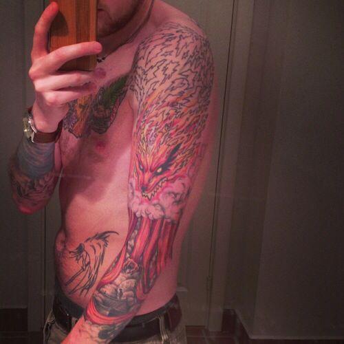Kurama Tattoo Anime Tattoo Naruto Tattoo Tattoos Body Art