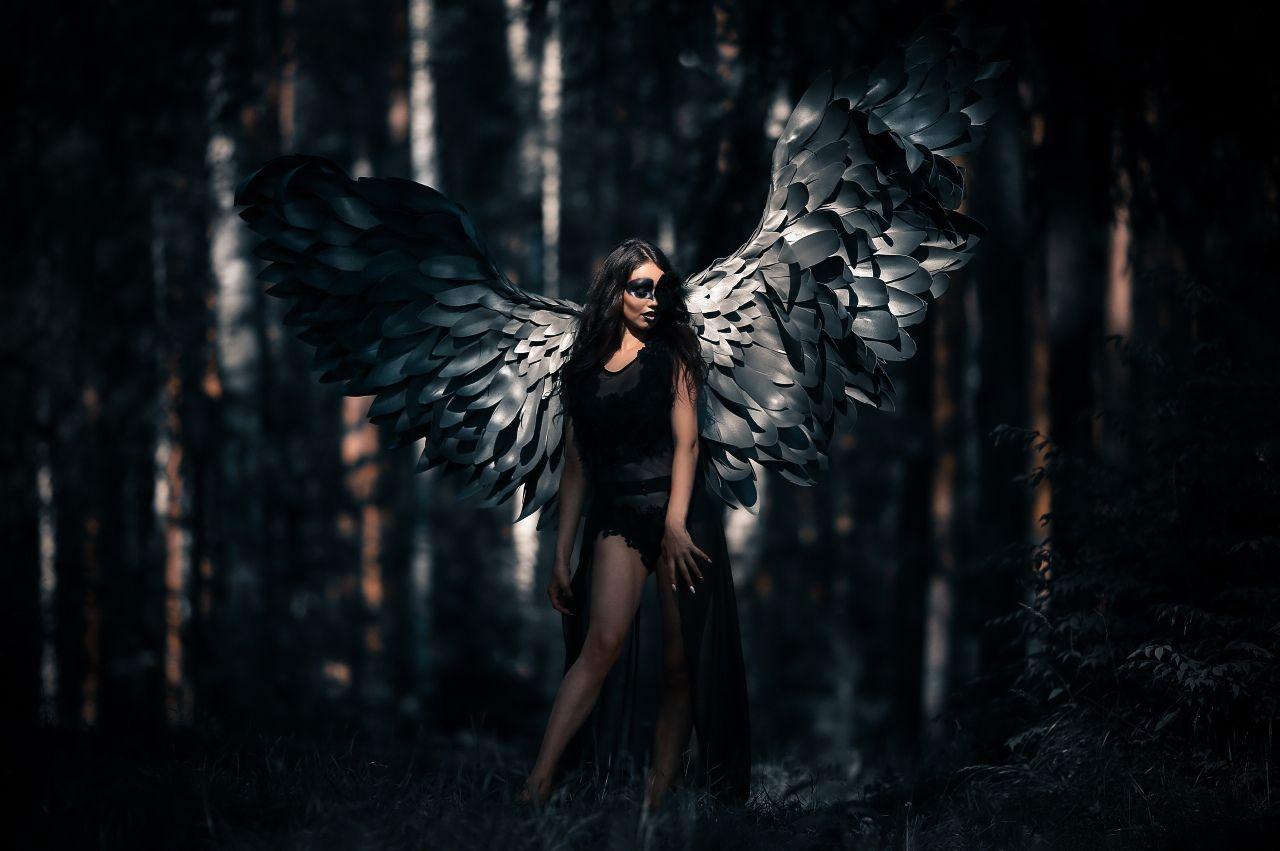 отличие лучшие фотосессии с крыльями очень сочная, хрустящая