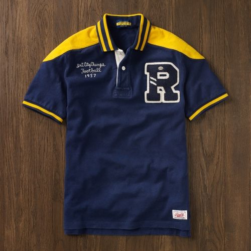 d566bad32c Rugby Letterman Polo