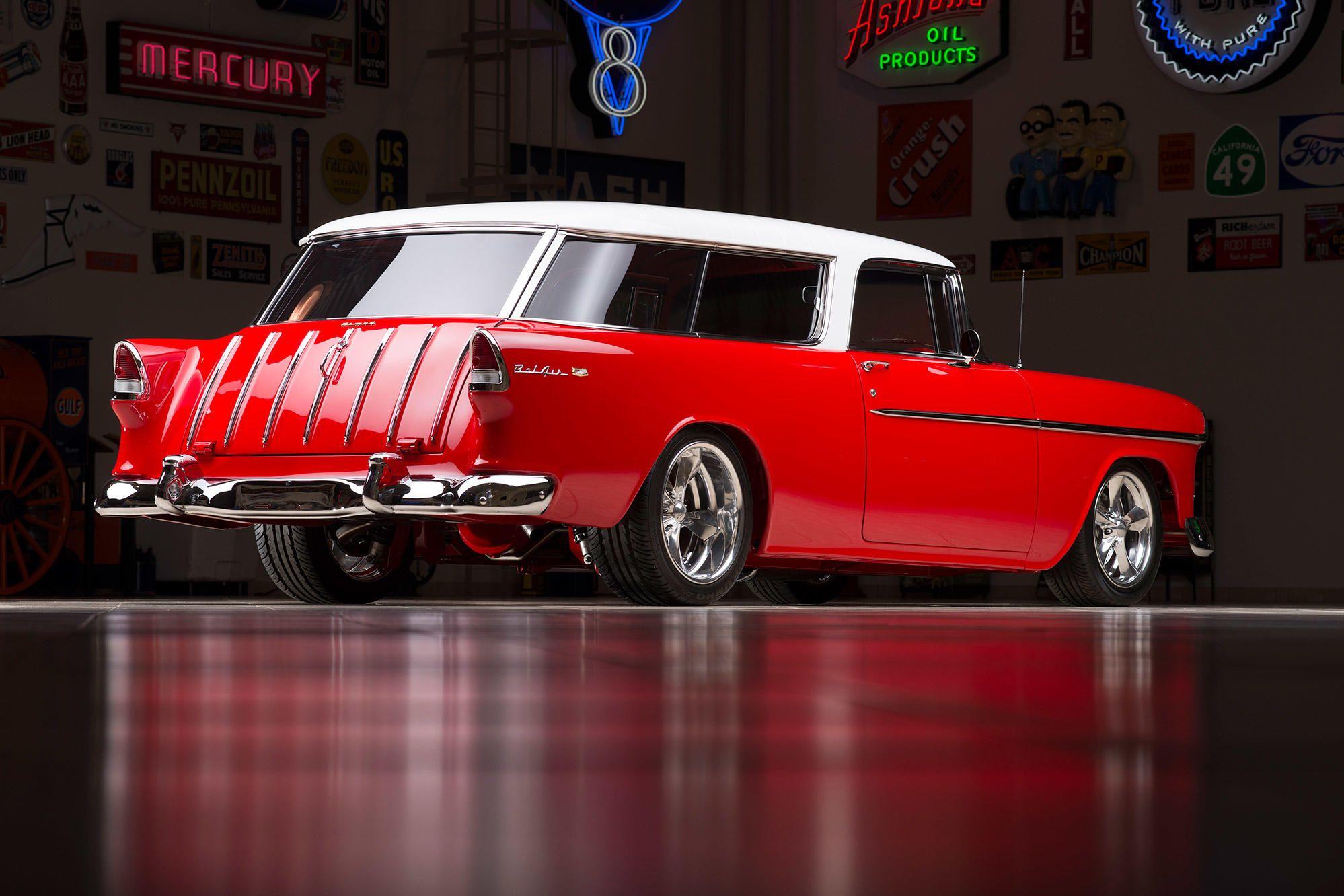 1955 Chevrolet Noman Custom Wagon 1955 Chevrolet Station Wagon