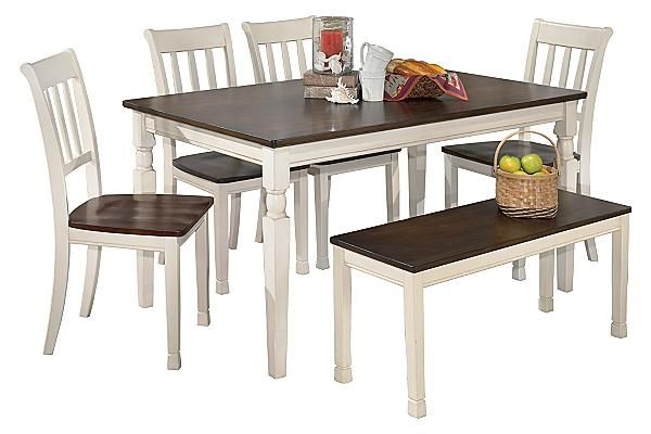 The Whitesburg Dining Table From Ashley Furniture HomeStore AFHS With