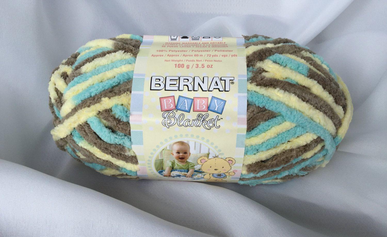 Beach Babe 03735 Bernat Baby Blanket Yarn 3 5 oz  - 100g