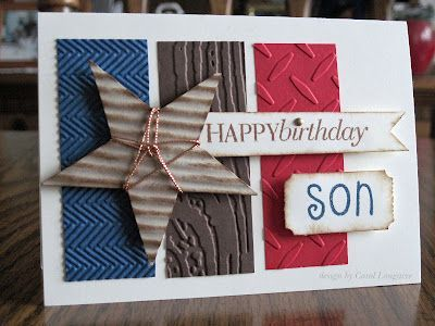 Handmade Th Birthday Cards Son ~ Pin by merrilee tibolla on pa stars cards diy