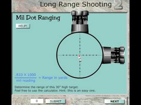 """""""Long Range Shooting"""" how to use your scope - YouTube"""