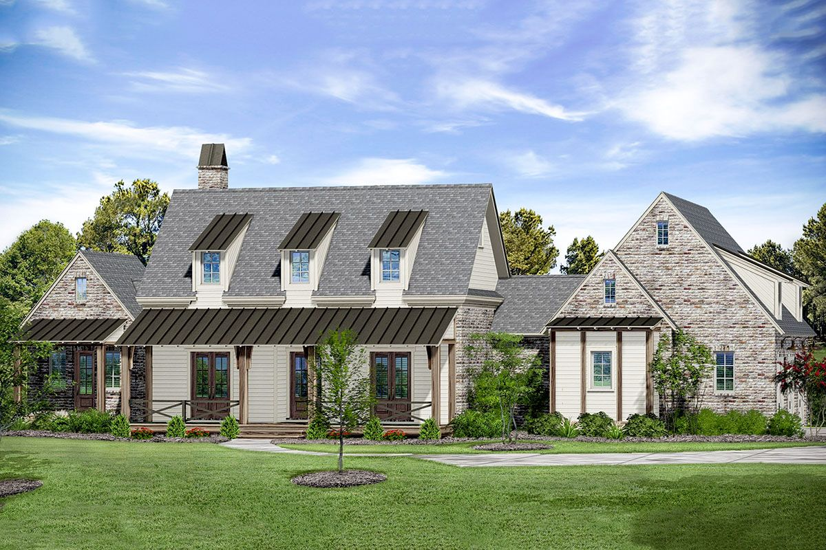 Plan 510120WDY 5Bedroom Farmhouse Plan with MainFloor