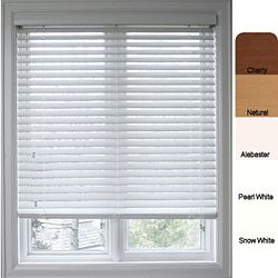 arlo blinds customized faux wood 66inch window blind by arlo blinds