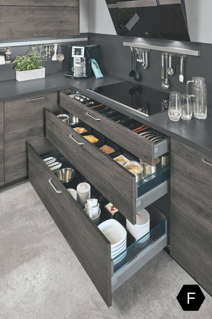 Quality Hidden Kitchen Cabinet   Interior design kitchen, Modern ...