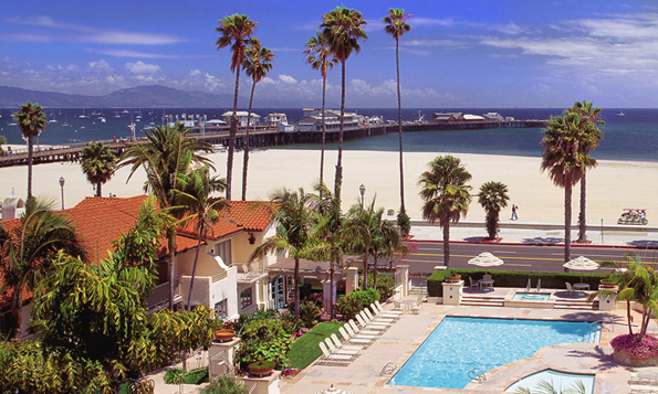 Santa Barbara California Attractions Harbor View Inn Hotel Things To Do In Ca